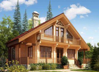 Отличное решение – дом из бруса!